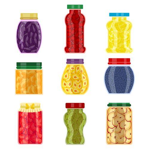 homemade jam jars 1