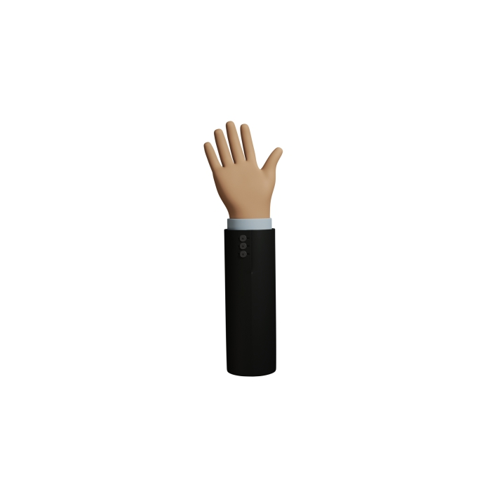 icons hand 3D figure 06 1