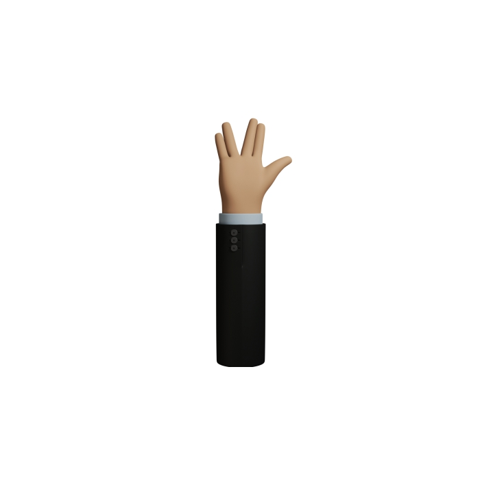 icons hand 3D figure 07 1