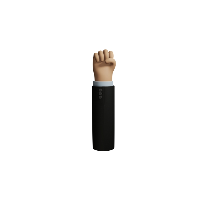 icons hand 3D figure 12 1