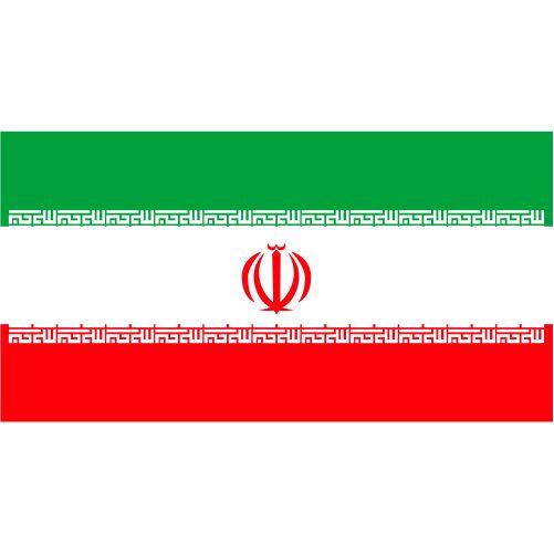 illustration of iran flag 1