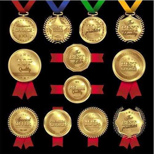 medal awards labels set 1