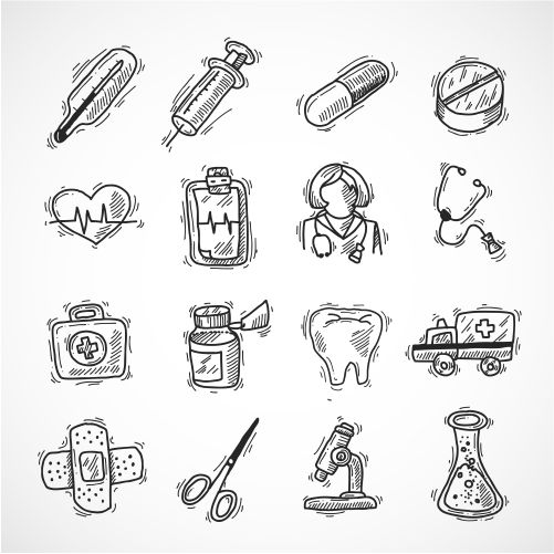 medical and healthcare icons 1