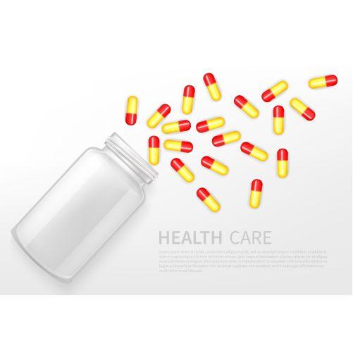 pharmacy health care service vector ad banner 1