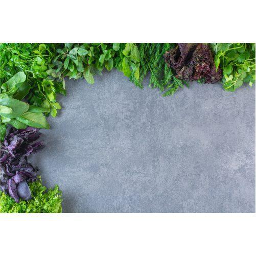 photo fresh healthy green vegetables stone background 1