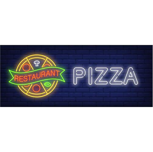 pizza restaurant neon sign 1