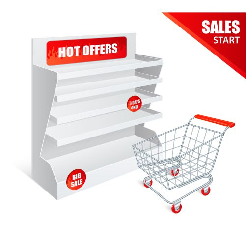 promotion shelf realistic 1