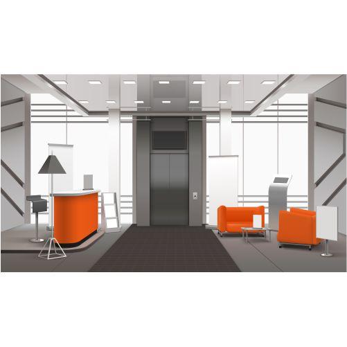 realistic lobby interior 1