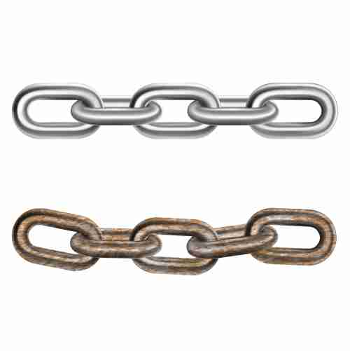 realistic steel chains 1
