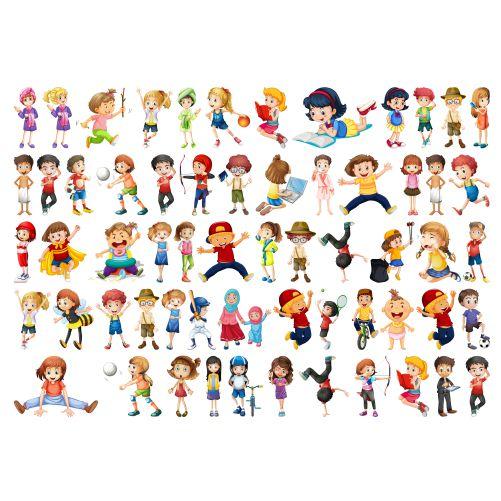 set children character 1