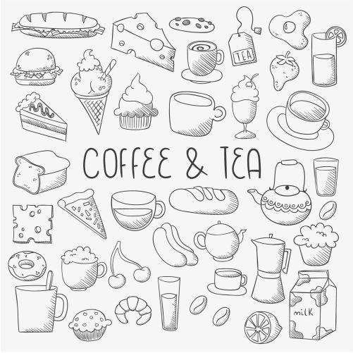 sketchy food icons 1