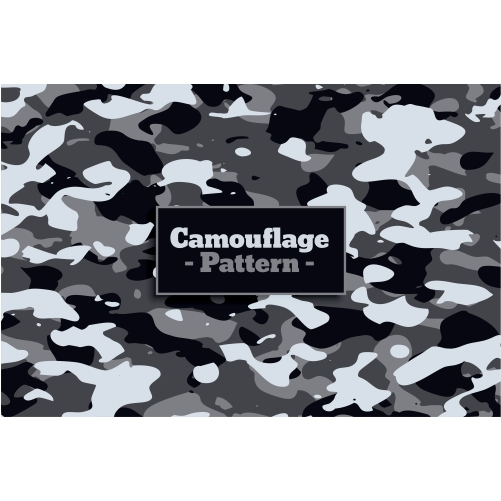 soldier military camouflage pattern white gray shade 1
