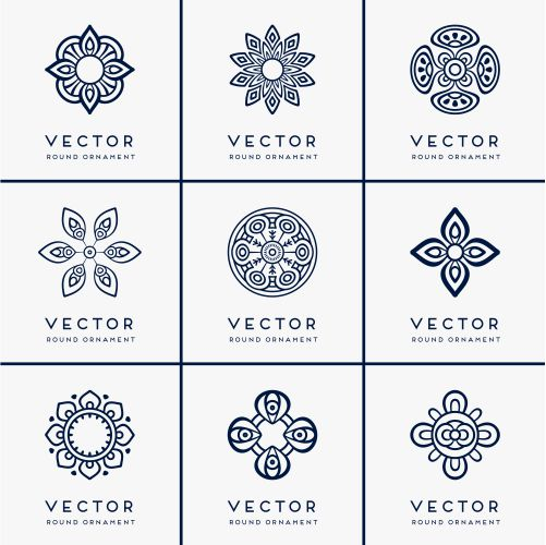 vector ethnic mandala 1