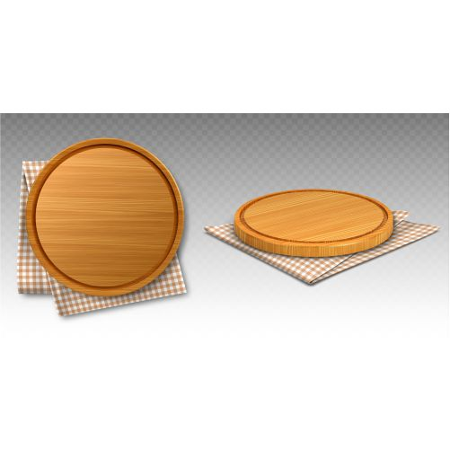 wooden pizza boards kitchen towels 2