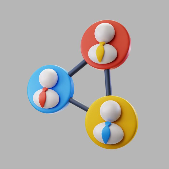 3d businesspeople professional team