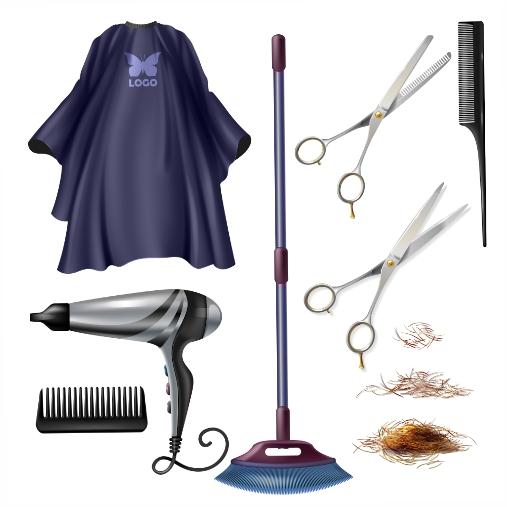 barbershop hairdresser tools accessories 1