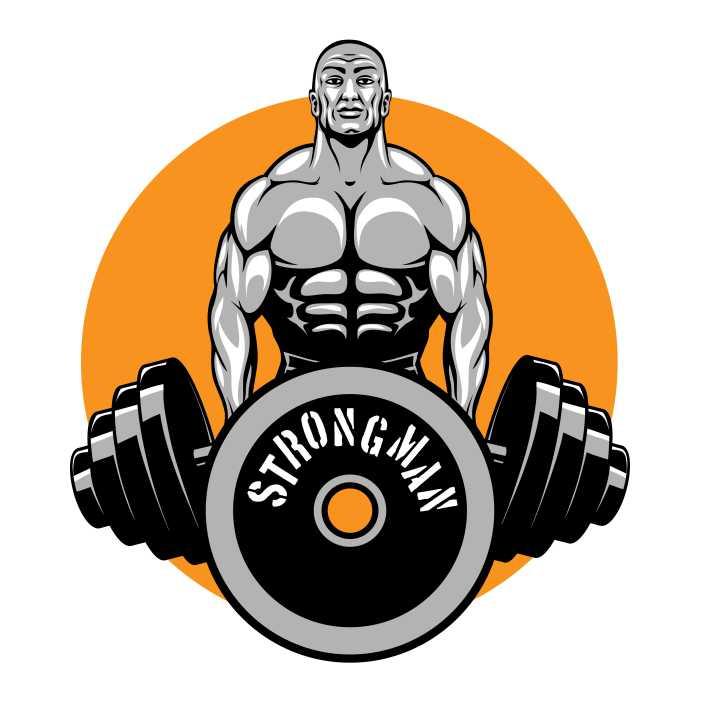 bodybuilders fitness club logo 1