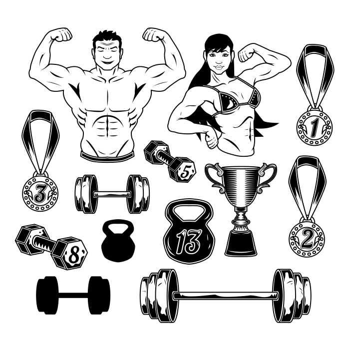 bodybuilding set 1