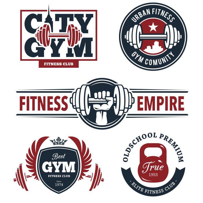 fitness emblems set 1