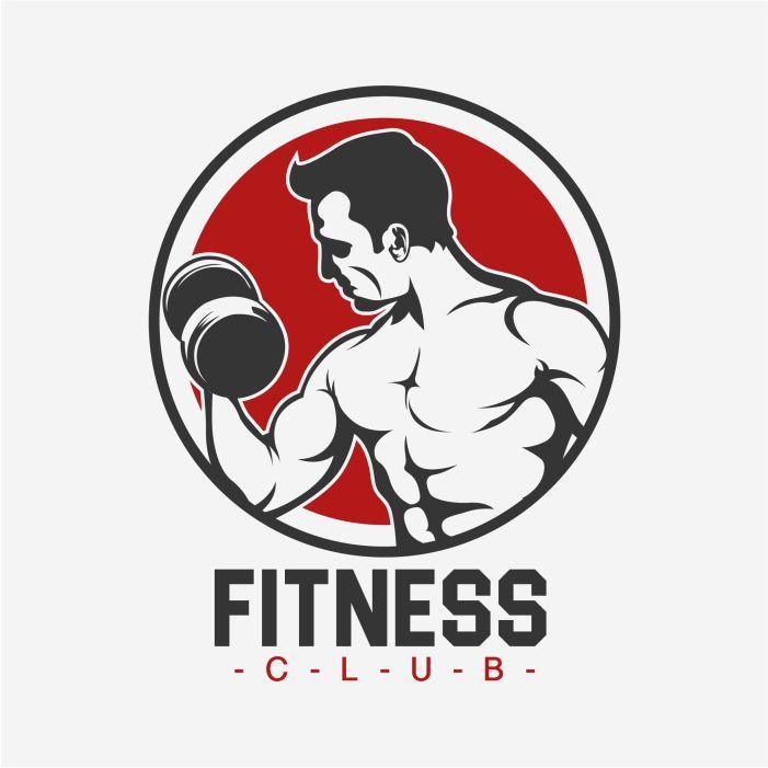 fitness logo template design 1