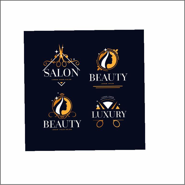 luxury hair salon logo collection 5 1