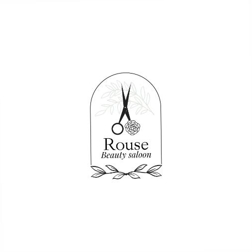 ornamental beauty logo template 1