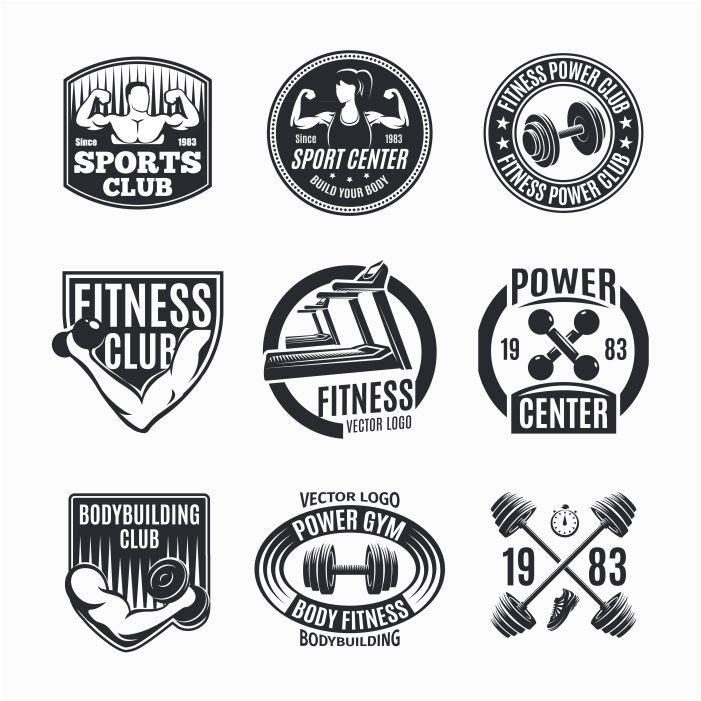 power fitness logo set 1