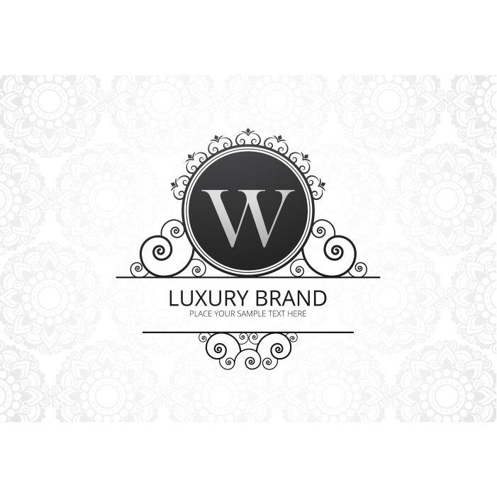 premium luxury creative letter w logo company 1
