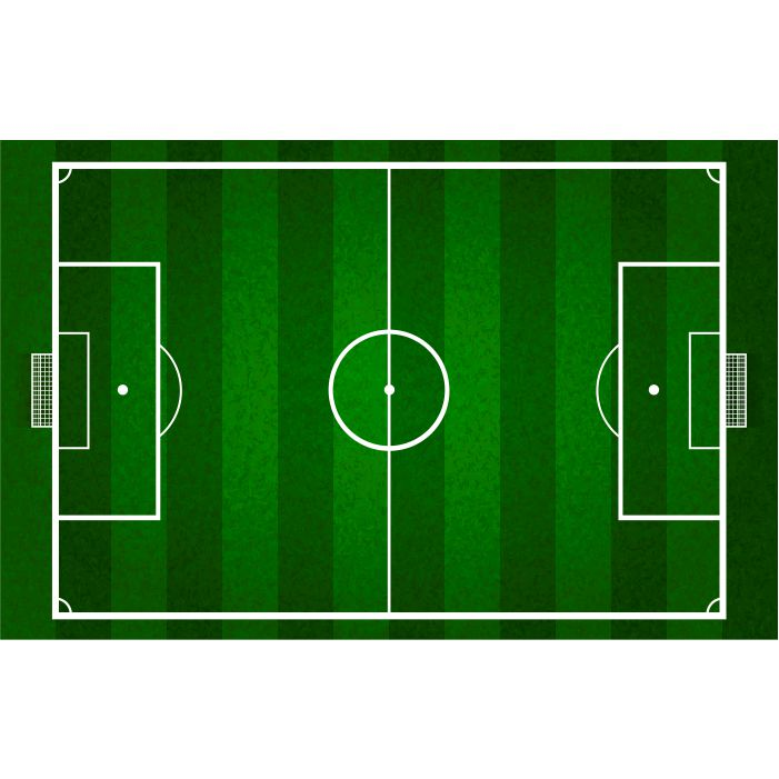 vector green soccer field football field gridiron 1