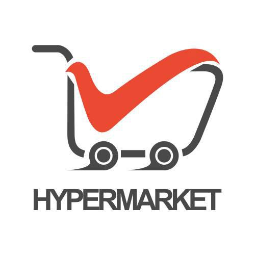 Hypermarket Logo shop cart 1
