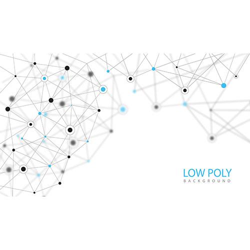Low poly geometric background 1
