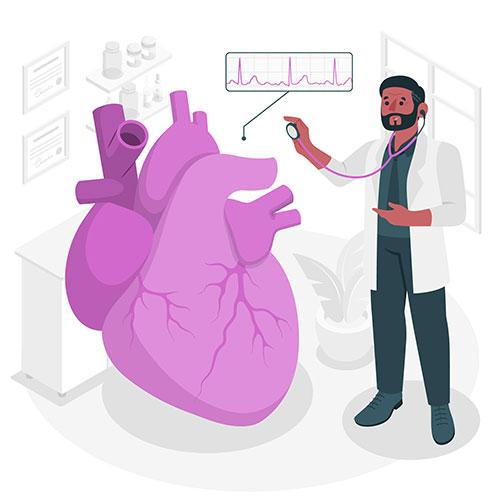 cardiologist concept illustration 1