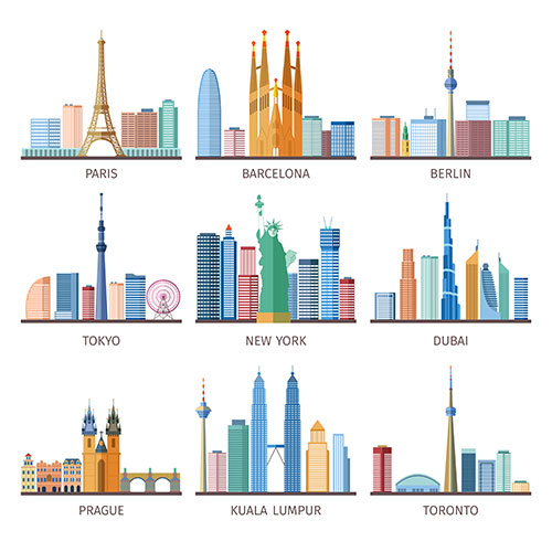 cities skylines icons set 1