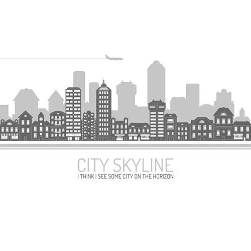 city skyline black 1