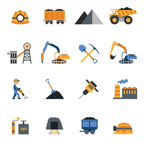 coal industry icons 1
