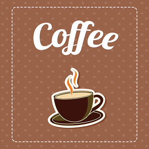coffee brown pattern background 1