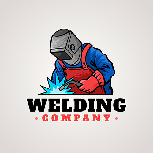 detailed welder logo template 5 1