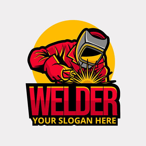 detailed welder logo template 6 1