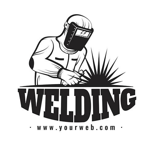 detailed welder logo template 7 1