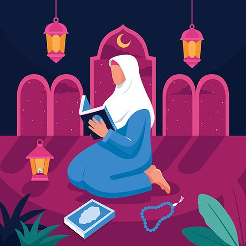 flat ramadan illustration 2 1