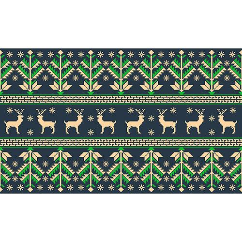 folk seamless pattern ornament 1