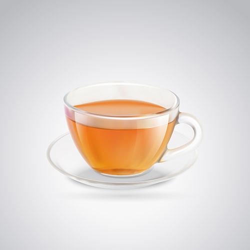 glass cup black tea 1