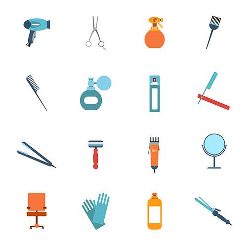hairdresser items design 1