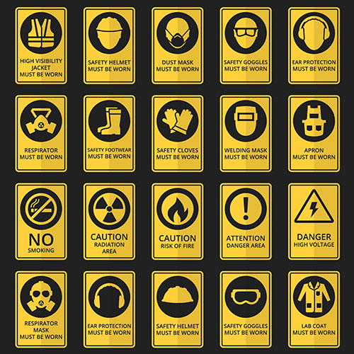 health safety signs safety equipment must be worn 1