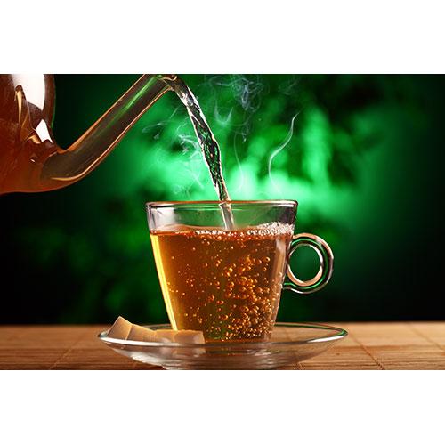 hot green tea glass teapot cup 2