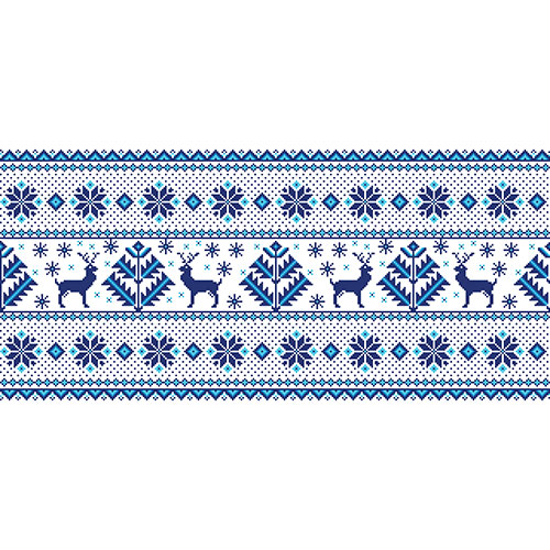 illustration folk seamless pattern ornament 1