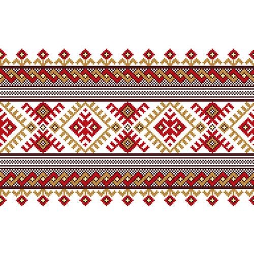 illustration ukrainian folk seamless pattern ornament 2 1
