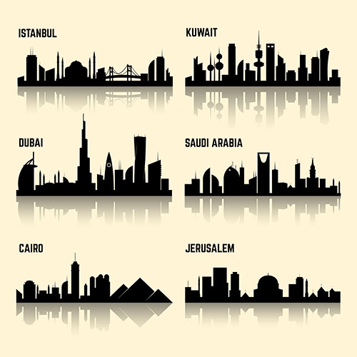middle east cities set 1