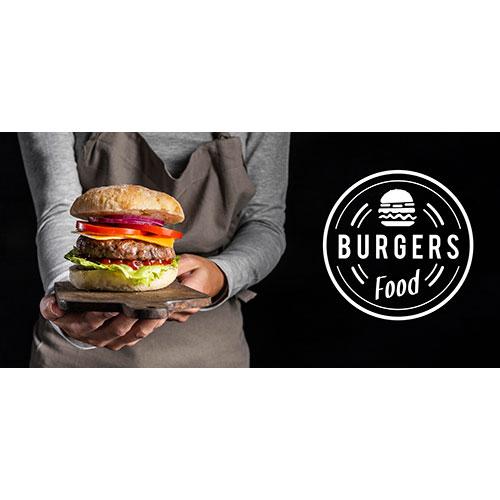 pub promo with delicious burger 1