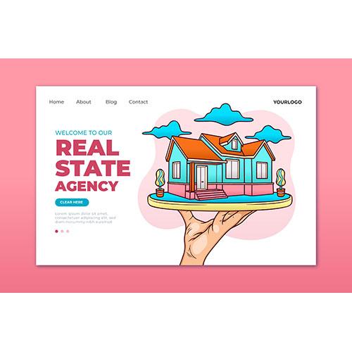 real estate landing page 1